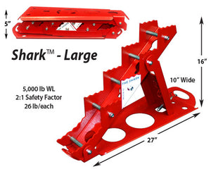 Rescue 42: Shark Collapsible Step Chock