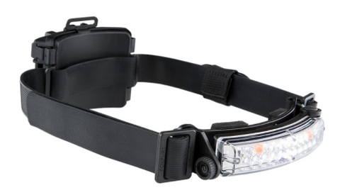 FoxFury: Command+ Tilt White & Amber LED Headlamp / Helmet Light
