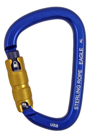 Sterling Rope: Eagle Autolock Large Pear Carabiner