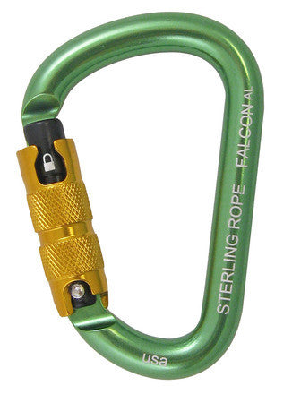 Sterling Rope: Falcon Autolock Sm Pear Carabiner