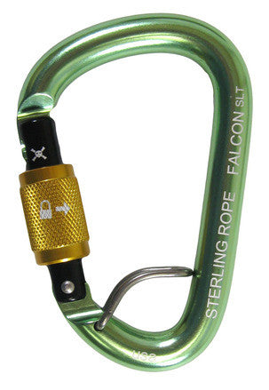 Sterling Rope: Falcon Talon Screwlock Sm Pear Carabiner