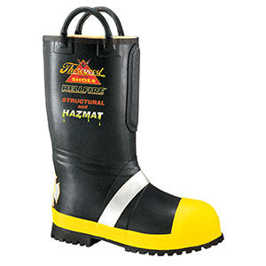 Thorogood: 507-6000 Women's Rubber Insulated / Lug Sole Bunker Boot