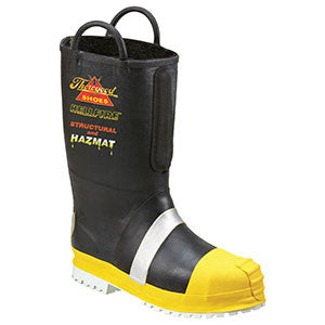Thorogood: 807-6003 Rubber Insulated Felt Lined / Lug Sole Bunker Boots