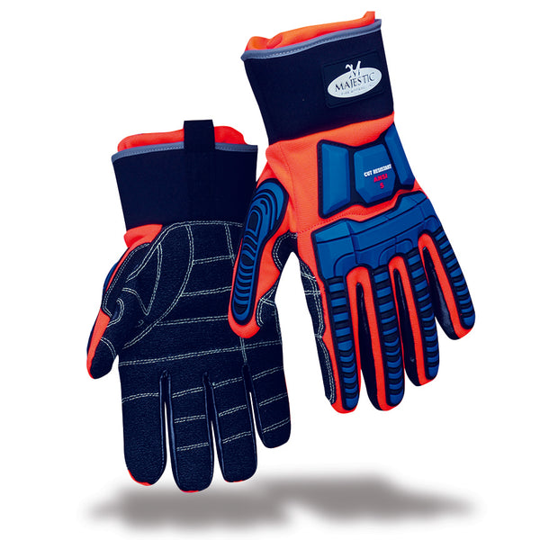 Majestic Fire Apparel: Triple Protection Extrication Glove
