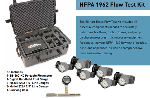 Elkhart Brass: NFPA 1962 Flow Test Kit