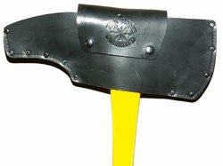 Fire Hooks Unlimited: Leather Pick Head Axe Sheath - Fixed