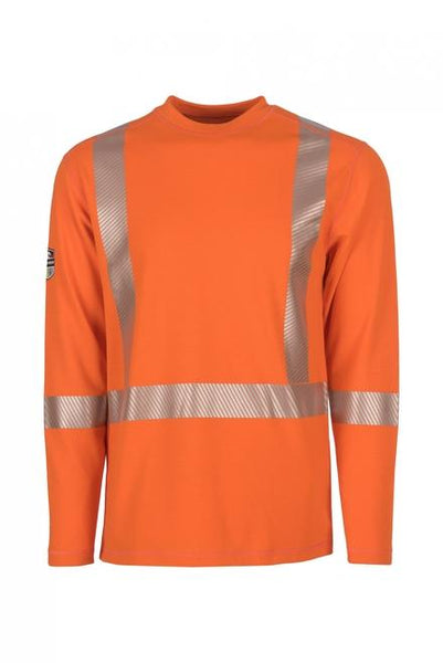 Dragonwear: Pro Dry Long Sleeve Hi-Vis Shirt