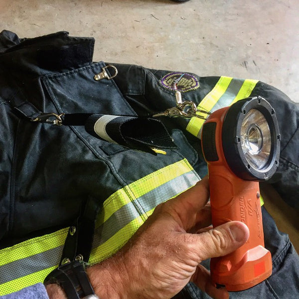 Fire By Trade: Inverted Flashlight Holder