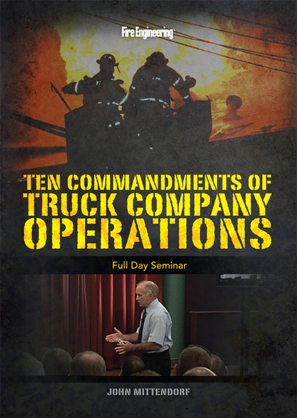 Ten Commandments Of Truck Company Operations Dvd The