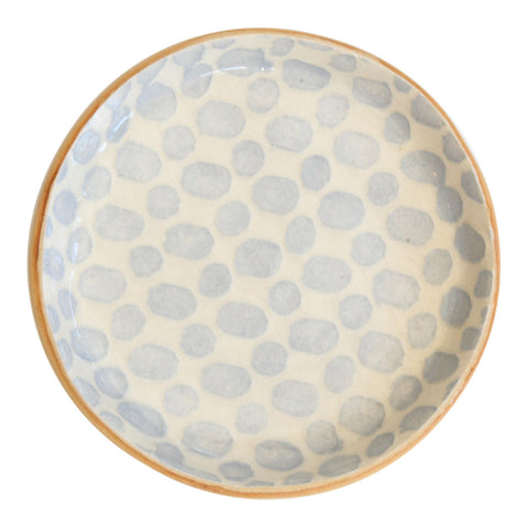Terrafirma Wine Coaster in Opal Dot