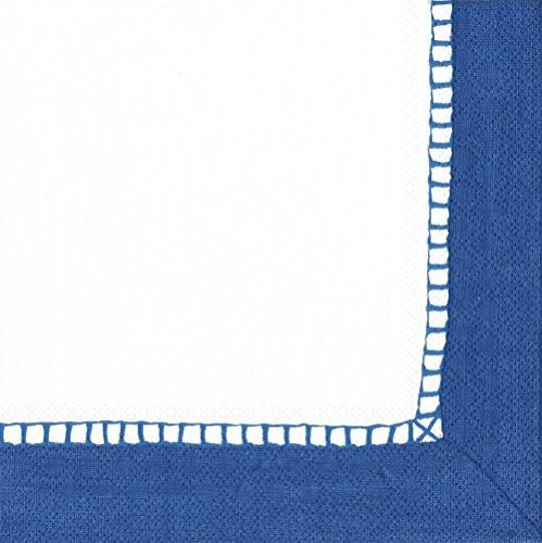 Marine Blue Cocktail Napkin