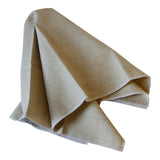 Linen Napkins with White Edge (Set of 4)