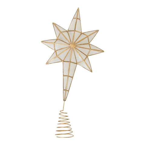 Capiz Tree Topper Large