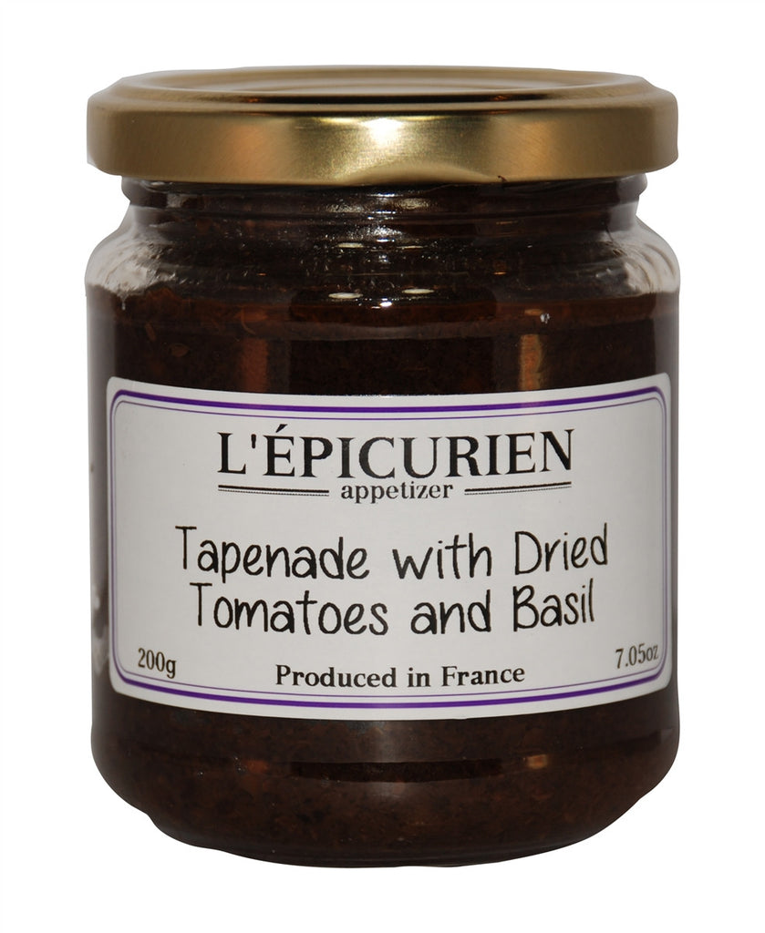 Tapenade with Dried Tomato and Basil
