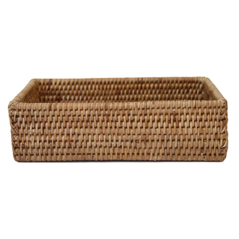 Large Rattan Napkin Holder