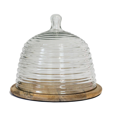 Beehive Dome with Wooden Base