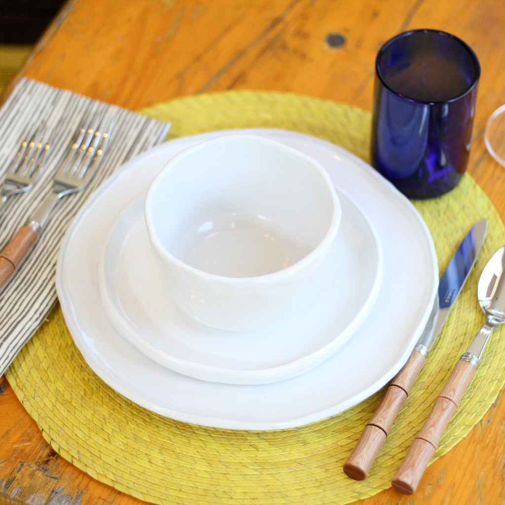 Round Placemat in Yellow