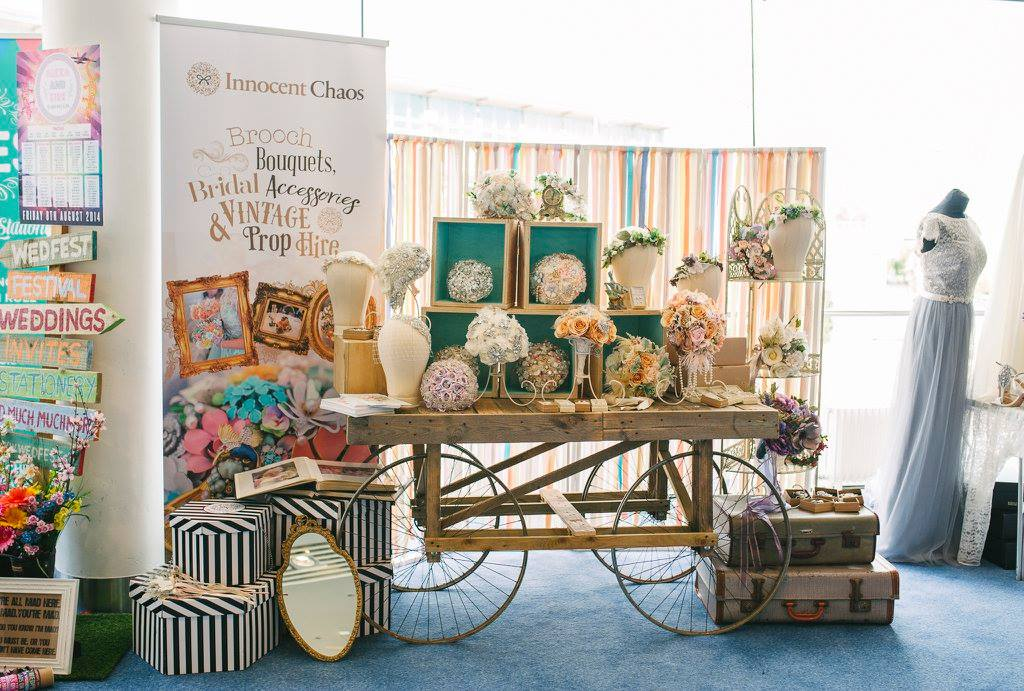 Innocent Chaos display Quirky Wedding fair Belfast