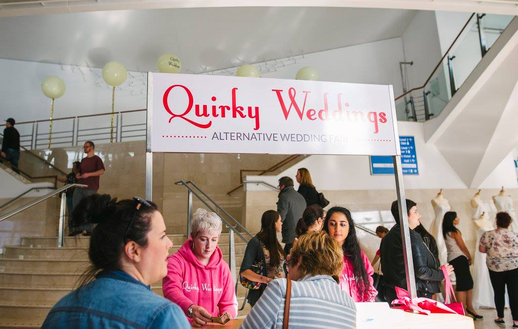 Quirky Wedding Fair Belfast Waterfront Hall