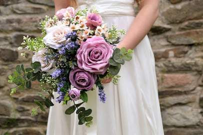 brooch bouquet, northern ireland, united kingdom