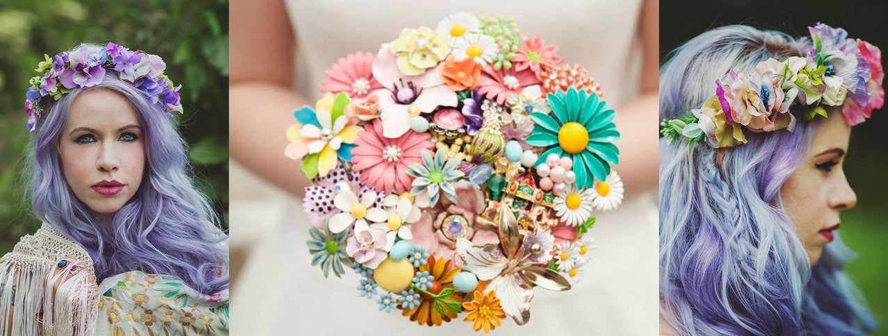 brooch bouquet, northern ireland, belfast, broach, united kingdom, flowers
