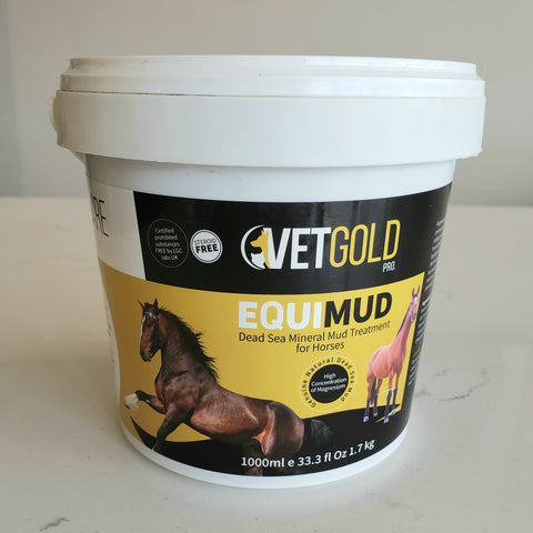 VetGold Pro EquiMud Dead Sea Treatment