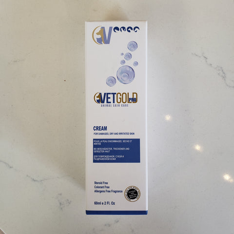 VetGold Pro Cream for Damaged, Dry and Irritated Skin
