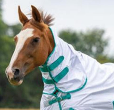Shires Tempest Fly Sheet - Neck Cover