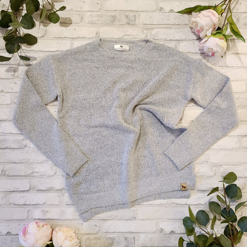 Blissful Blenheim Knit Sweater - Grey