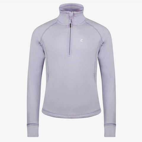 Horze Junior Andie Technical Top - Purple