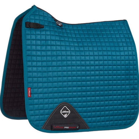 LeMieux ProSport Luxury Dressage Pad - Peacock