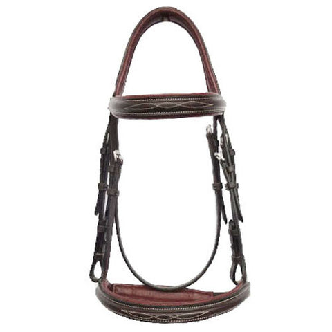 Amigo Deluxe Hunter Bridle with Reins