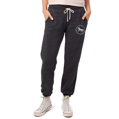 Blissful Horse Sweatpants - Charcoal