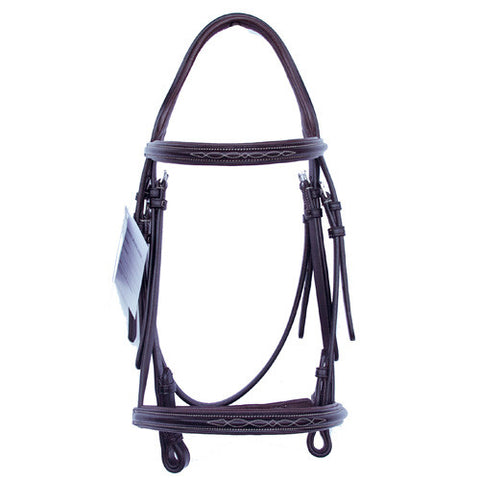 Bobby's English Tack Fancy Stitch Padded Bridle