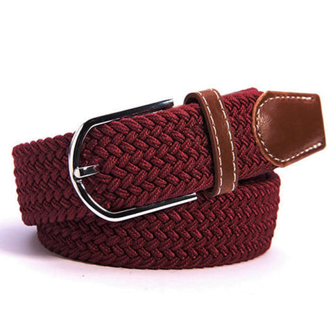 Derby Belt Burgundy