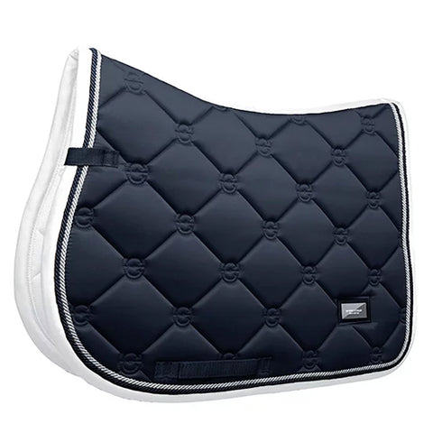 Equestrian Stockholm Midnight White Edge Jump Pad