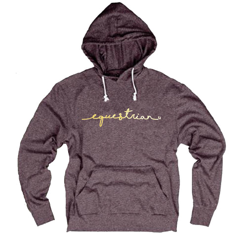 Equestrian Gold Tri-Blend Light Hoody