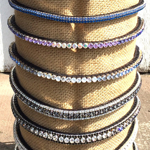 Equiture Crystal Browbands