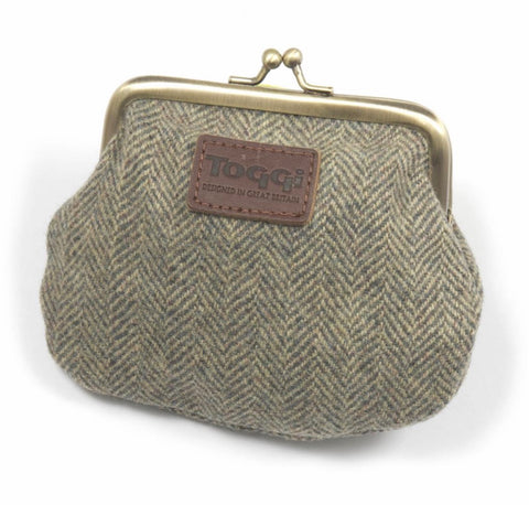 Toggi Tweed Coin Purse