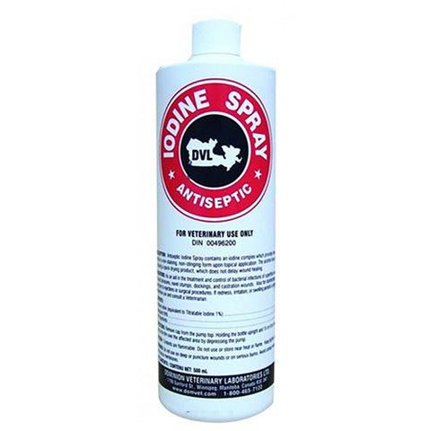 Antiseptic Iodine 1% Spray 500ml
