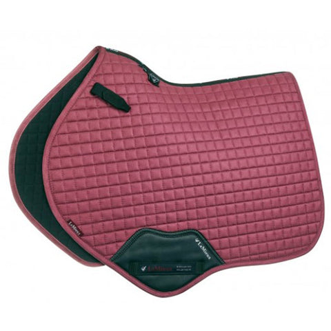 LeMieux ProSport Close Contact Suede Saddle Pad - French Rose