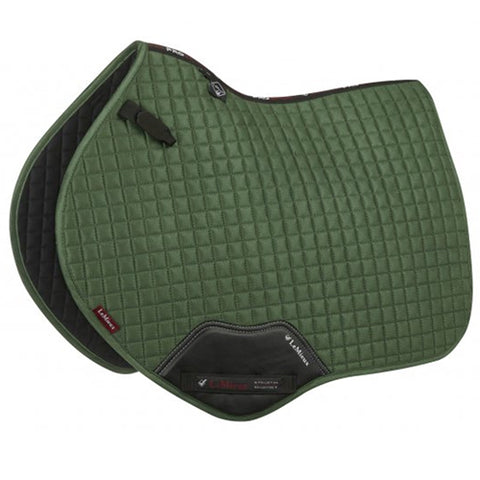 LeMieux ProSport Close Contact Suede Saddle Pad - Hunter