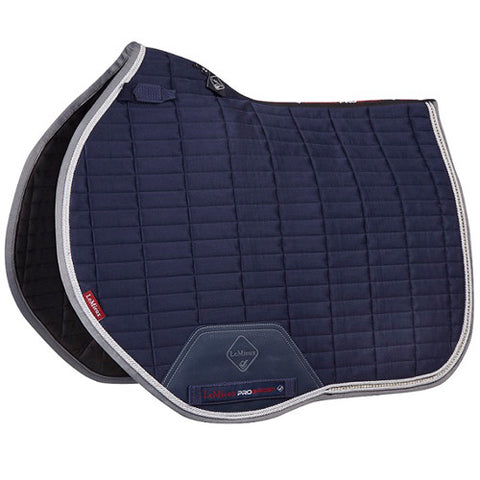 LeMieux ProSport Euro Jump Suede Saddle Pad with Crystals