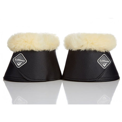 LeMieux Sheepskin Leather Bell Boot