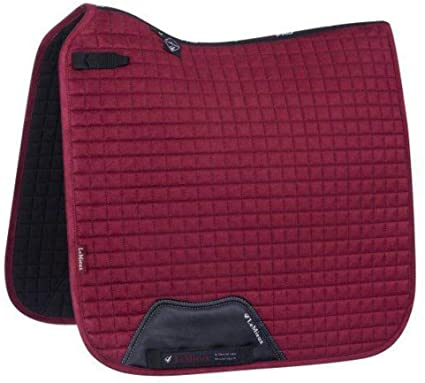 LeMieux ProSport Luxury Dressage Pad - Mulberry