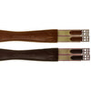 Ovation Pro Fancy Stitch Leather Girth