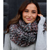 Blissful Multi Knit Scarf - Blue