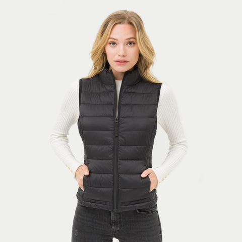 Blissful Equestrian Puffer Vest