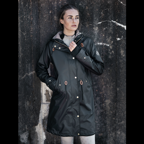 Jacson Pippi Raincoat - Black