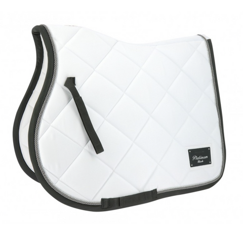 Equitheme Platinum Saddle Pad -White